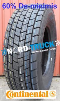 315/60R22.5 CONTINENTAL HYBRID HD3,152/148L,M+S, 3PMSF (Antriebsachse)